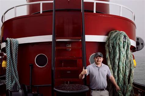 tug boat captain jobs born to be a tugboat captain yankee magazine