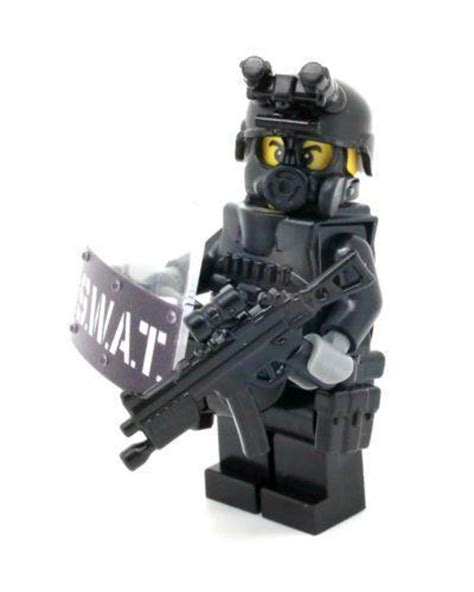 Mini Figures Swat Sy By Hobijepang lego swat ebay