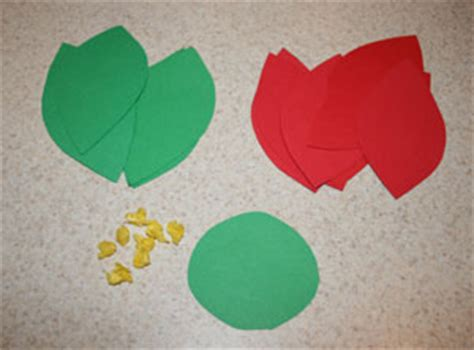 Poinsettia Paper Craft - poinsettia leaf template printable search results