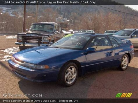 subaru svx interior laguna blue pearl metallic 1994 subaru svx lsi awd coupe