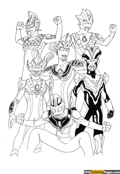 coloring book ultraman mebius ultraman coloring pages 8 coloring page ultraman