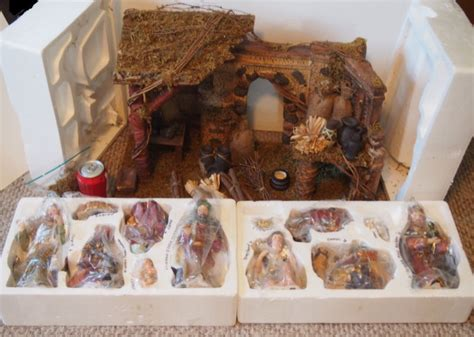 home interior nativity homco nativity shop collectibles daily