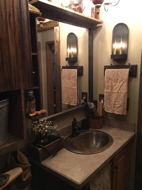 primitive bathroom ideas 264 best primitive bathroom images on pinterest prim