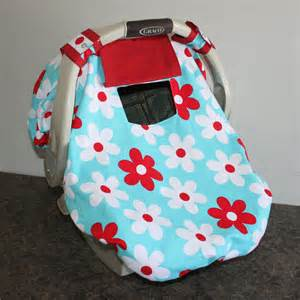 Fitted Car Seat Canopy by Fitted Infant Car Seat Cover Canopy By Thepoppyhollowshop