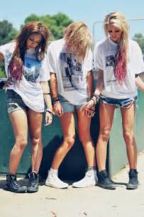 Clothes dip dye fashion girls hair happy long hair love pretty