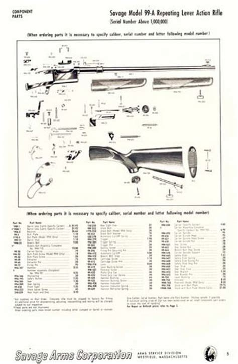 savage model 110 parts diagram charming savage model parts diagram images best image