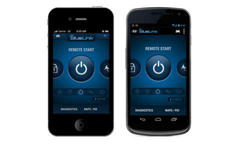 hyundai blue link remote start hyundai blue link mobile app launched mercedes forum