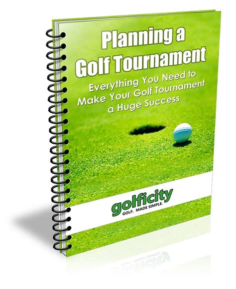 Planning A Golf Tournament Event Planning Tips And More Golf Tournament Planning Template