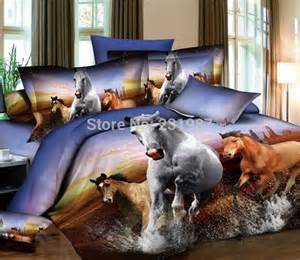 bedding with horses get cheap design bedding aliexpress
