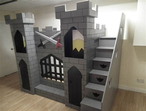 castle beds for boys 8 amazing kids beds