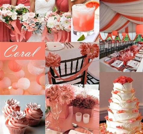 images  coral  mint green wedding theme