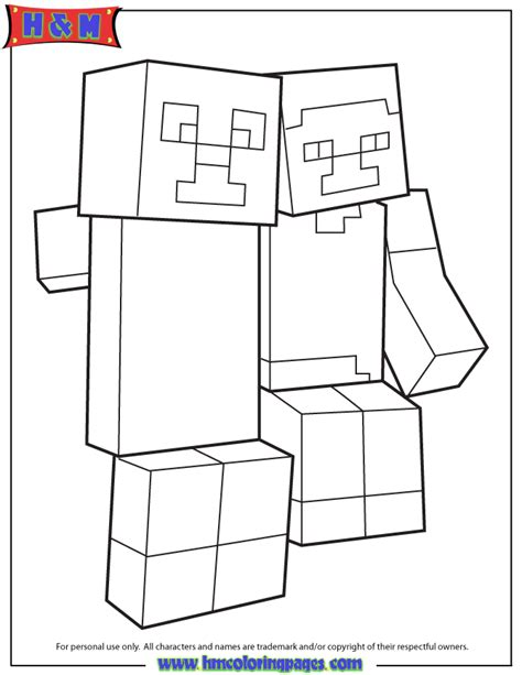 mutant creeper coloring pages coloring pages