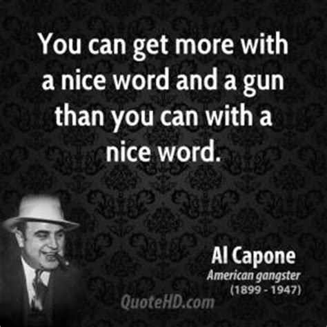 Can You Serve In The With A Criminal Record Al Capone Quotes Quotehd