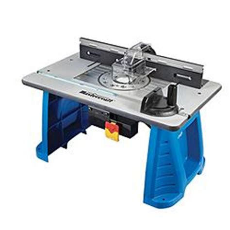 canadian tire mastercraft custom router table customer