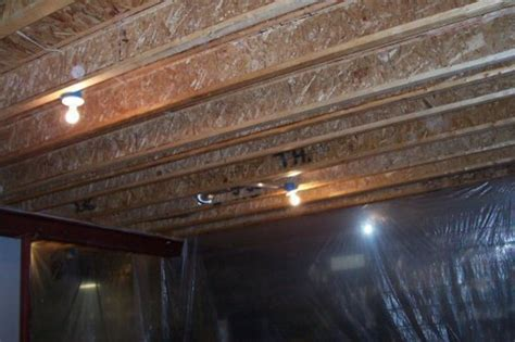painted basement ceiling how design bookmark 11828