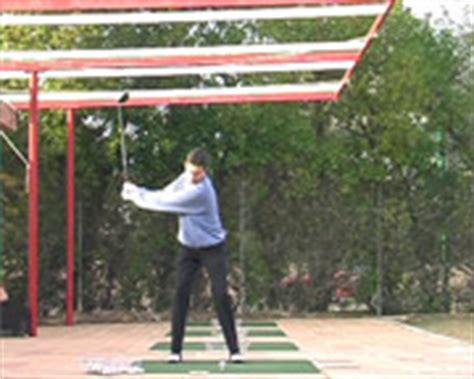 golf swing side view december 2008 wit multimedia 3d animation research group