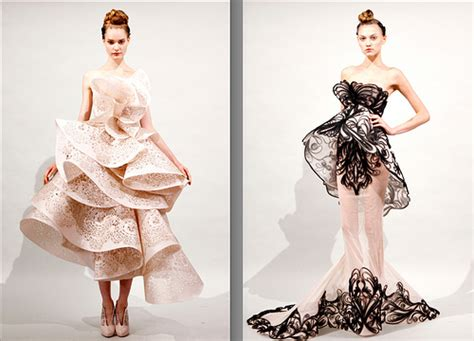 Laser Cut Garments by Marchesa S Intricate Lasercut Garments Brontejmtextiles