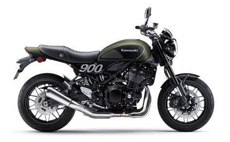 Z900RS?Metallic Matte Covert Green?Flat Ebony Statics (12