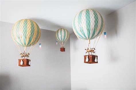 Balloon Nursery Decor A Travel Inspired Baby Nursery Design