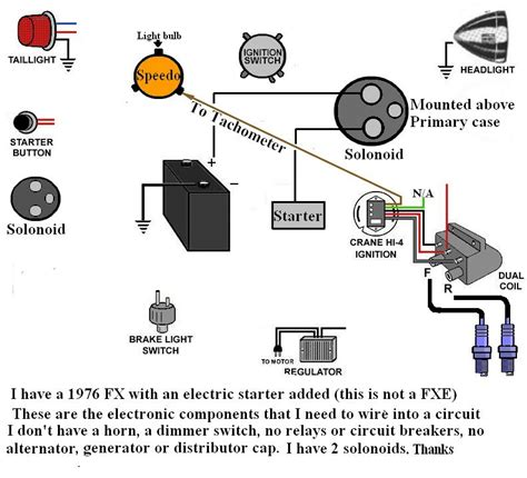1976 harley davidson wiring diagram wiring diagram with