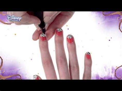 nail art tutorial disney channel disney descendants carlos nail art tutorial official