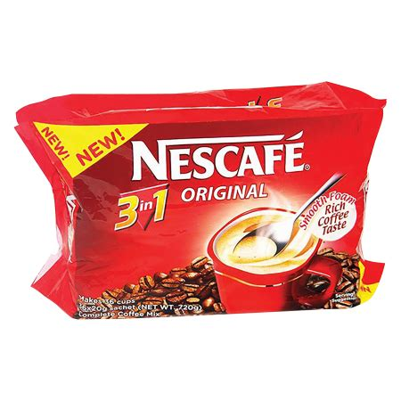 Nescafe Gold 3in1 20g X 10pcs we it all here buy janitorial household pantry