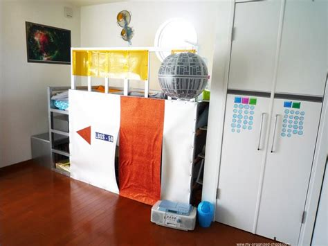 trofast storage makeover ikea hackers kura bed hack makeover from deep sea to outer space ikea