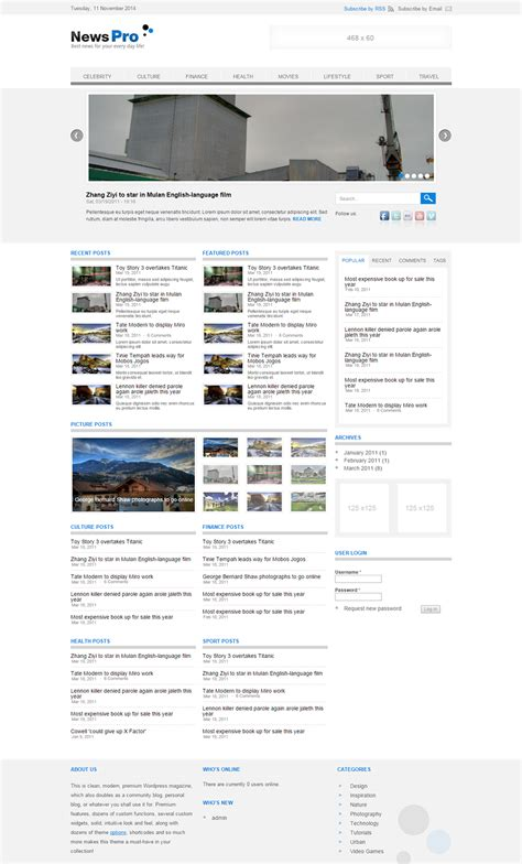 drupal themes for news portal drupal news portal website templates themes free