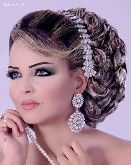 bridal hairstyles arabic bridal makeup image search and bridal on pinterest