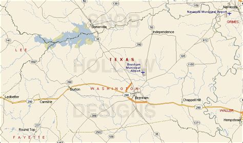 washington texas map washington county texas color map