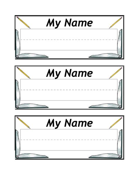 free desk name plate template top name plate templates free to in pdf format