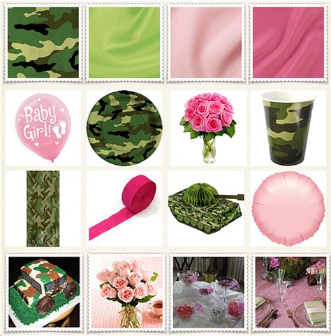 Pink Camo Baby Shower Decorations by Camo Pink Baby Shower The Event Essentials