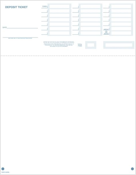 quickbooks deposit slip template image collections