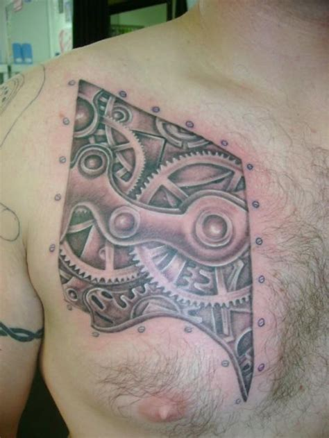 biomechanical chest tattoo designs 50 amazing biomechanical designs amazing ideas