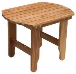 Outdoor Patio Side Tables Douglas Nance Adirondack Side Table Traditional Outdoor Side Tables By Atlantic Patio