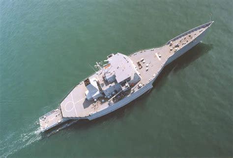 trimaran warship triton trimaran naval technology
