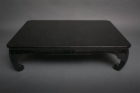 Black Lacquer Coffee Table Japanese Black Lacquer Coffee Table For Sale At 1stdibs