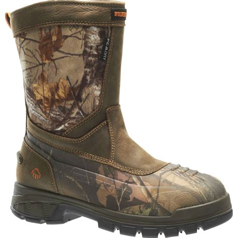 mens insulated pull on boots wolverine mens jason epx insulated pull on boot ebay