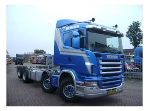 scania r500 8x2 chassis chassis truck from netherlands for