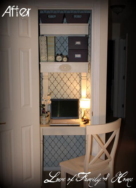 Closet Office Desk Furniture Room Makeovers Re Do S And Updates Showcase Sneak Peak Bystephanielynn