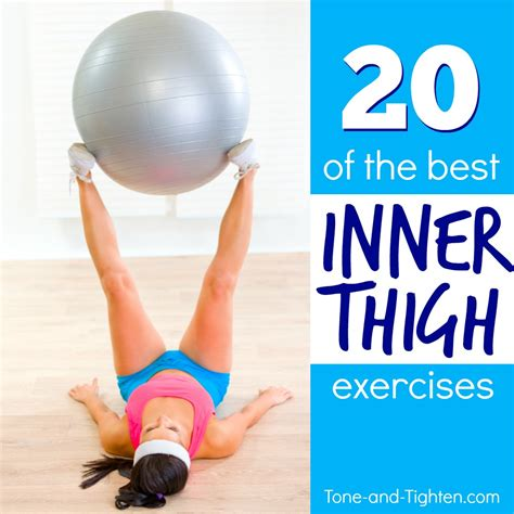 best inner thigh exercises at home tone and tighten