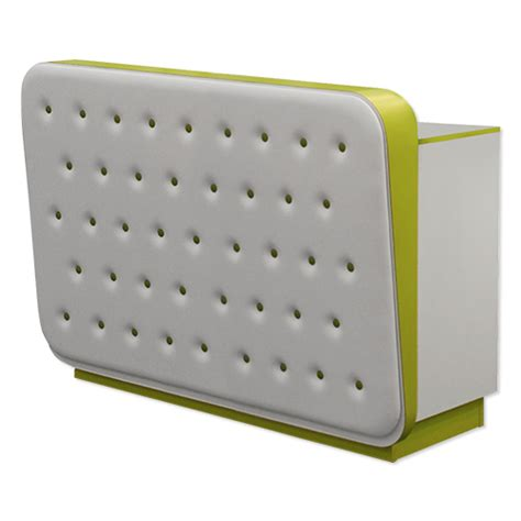 Tufted Reception Desk Laila Tufted Salon Front Desk Large Reception Area Desk Salon Front Desk Furniture