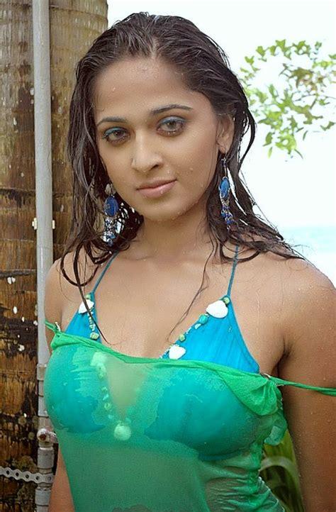 wet hot electronic summer tamil actress anushka shetty hot and wet photo album