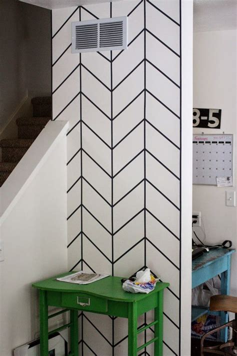 wall pattern ideas with tape 20 diy washi tape wall art ideas