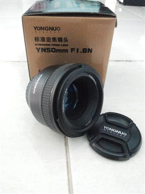 Lensa Yongnuo 50mm F1 8 Nikon jual lensa yongnuo 50mm f1 8 for nikon laptopindonesia