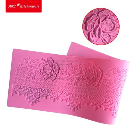 Sugar Lace Mats by Aliexpress Buy Flower Silicone Lace Mat Cake Mold