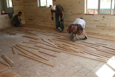 Floor Installation Cherry Hardwood Floor Installation Hardwood Is In Living