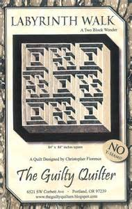 quilt pattern labyrinth walk guide pattern by