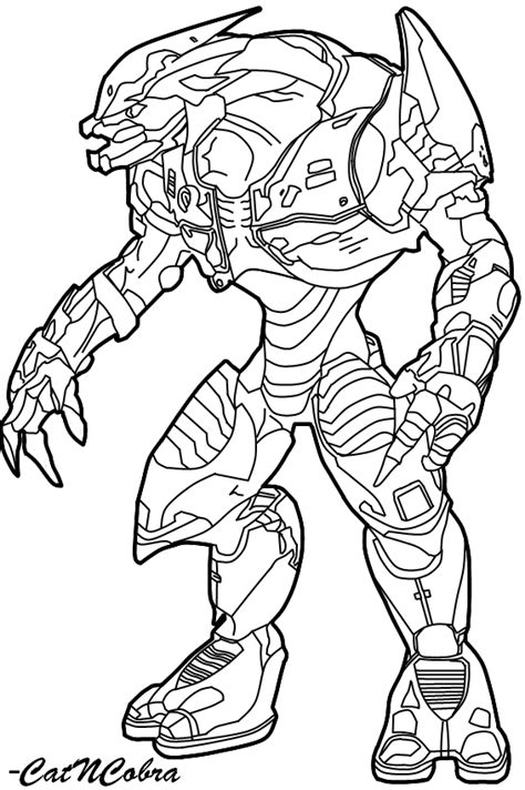 Halo 6 Coloring Pages by Halo Reach Para Colorear Imagui