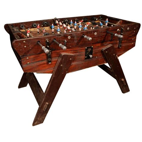 Vintage Foosball Table awesome vintage foosball table at 1stdibs